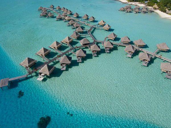 InterContinental Le Moana Bora Bora Hotel Top View