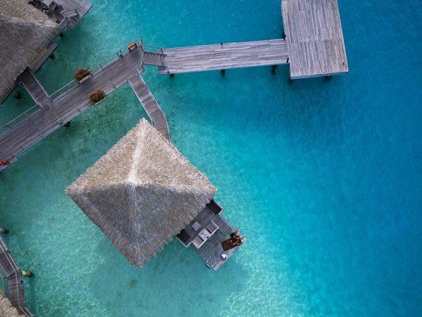 InterContinental Le Moana Bora Bora Lobby Top View