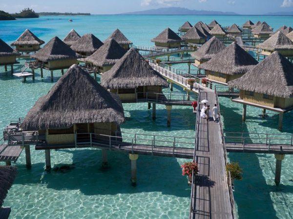 InterContinental Le Moana Bora Bora Lobby View
