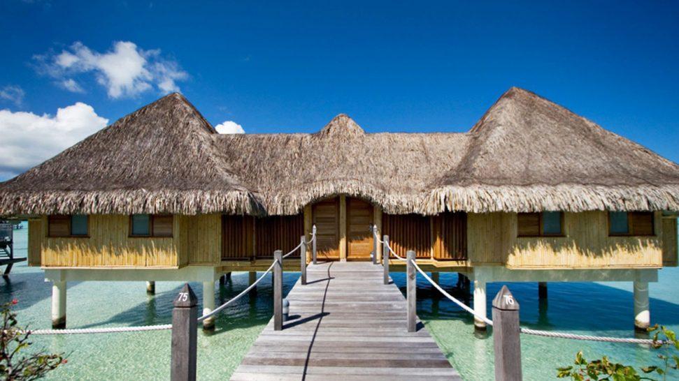 InterContinental Le Moana Bora Bora Poevai Overwater Suite