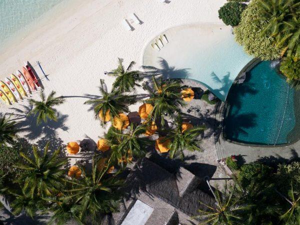 InterContinental Le Moana Bora Bora Pool Top View