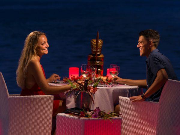 InterContinental Le Moana Bora Bora Romantic Dinner