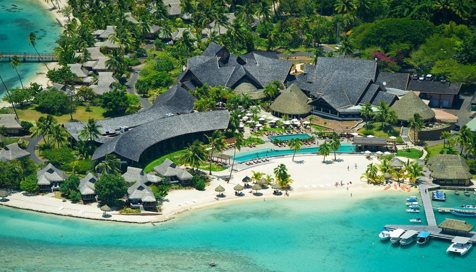 InterContinental Moorea Resort Aerial