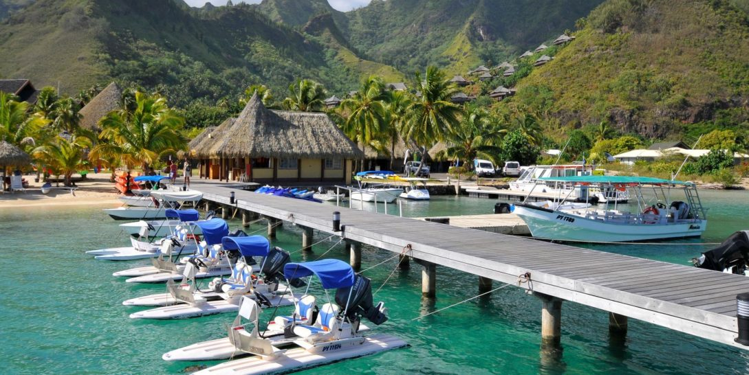 InterContinental Moorea Resort Water Sports Center