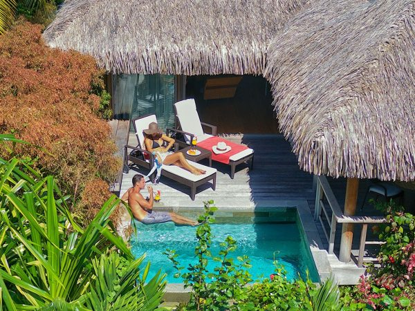 InterContinental Resort And Spa Moorea Junior Suite Garden Pool Bungalows