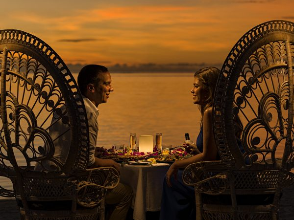 InterContinental Resort And Spa Moorea Romantic Dinner