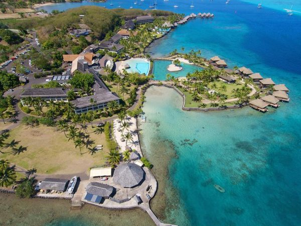 InterContinental Resort Tahiti Aerial View