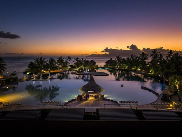 InterContinental Resort Tahiti Night View
