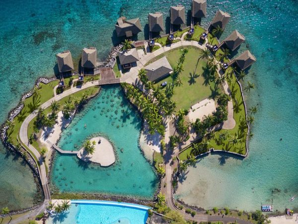 InterContinental Resort Tahiti Top View