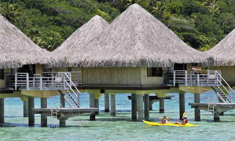 Intercontinental Bora Bora Le Moana Resort Lagoon Overwater Bungalow