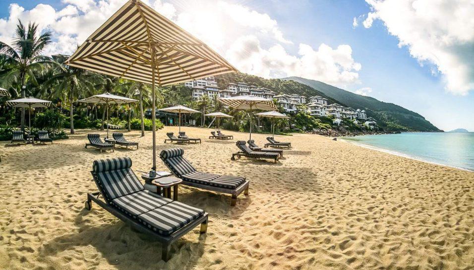 Intercontinental Danang Sun Peninsula Resort Beach