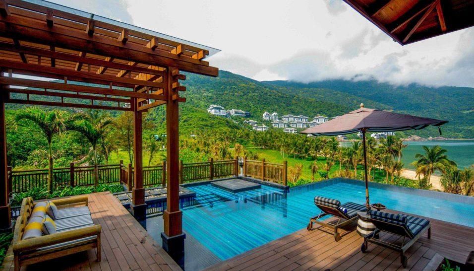 Intercontinental Danang Sun Peninsula Resort Pool Residence Villa Private pool