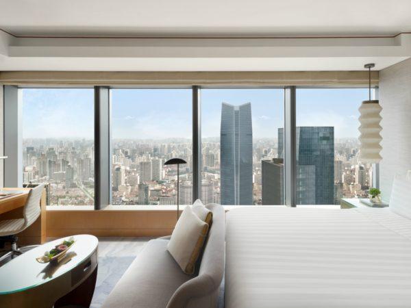 Jing An Shangri La West Shanghai Deluxe Room