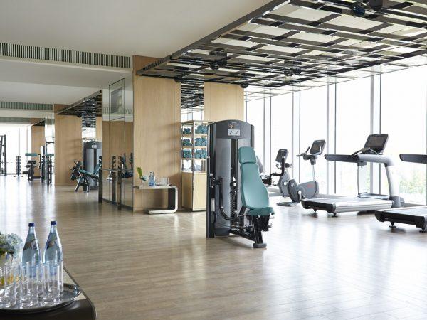 Jing An Shangri La West Shanghai Gym