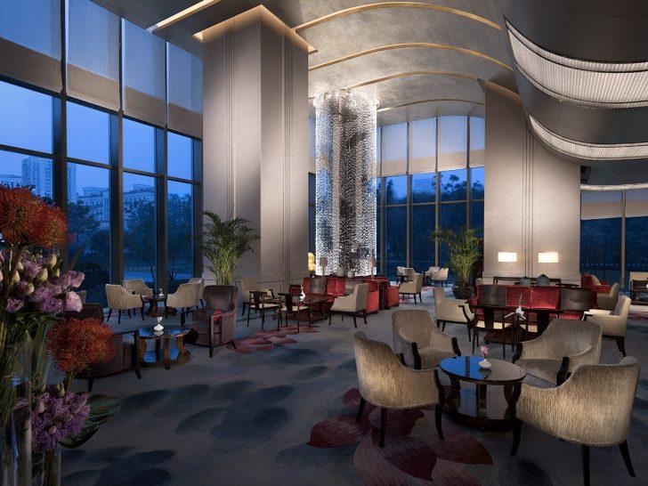 Jing An Shangri La West Shanghai Lobby Lounge