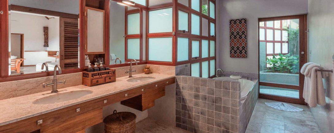 Kamalaya Koh Samui Rock Top Pool Villa Bathroom