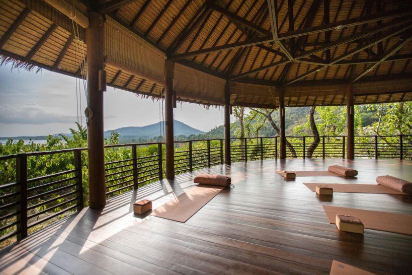 Kamalaya koh samui yoga pavilion