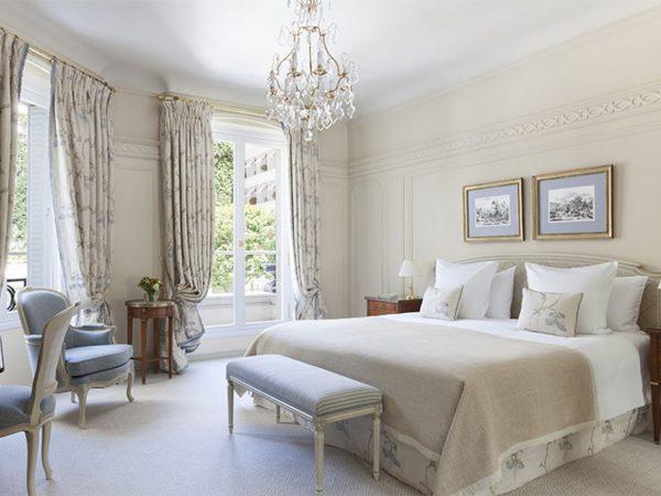 Le Bristol Paris Deluxe Room With Garden View