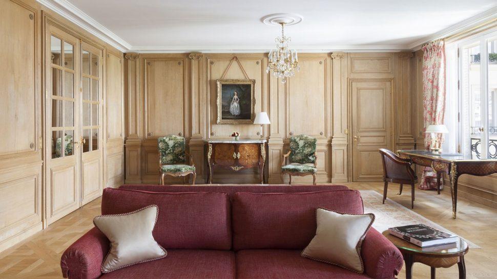 Le Bristol Paris Royal Suite