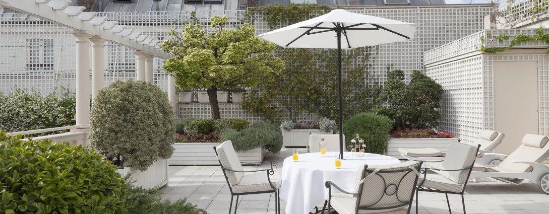 Le Bristol Paris Terrace Suite