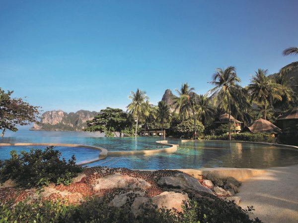 Main pool at Rayavadee Krabi