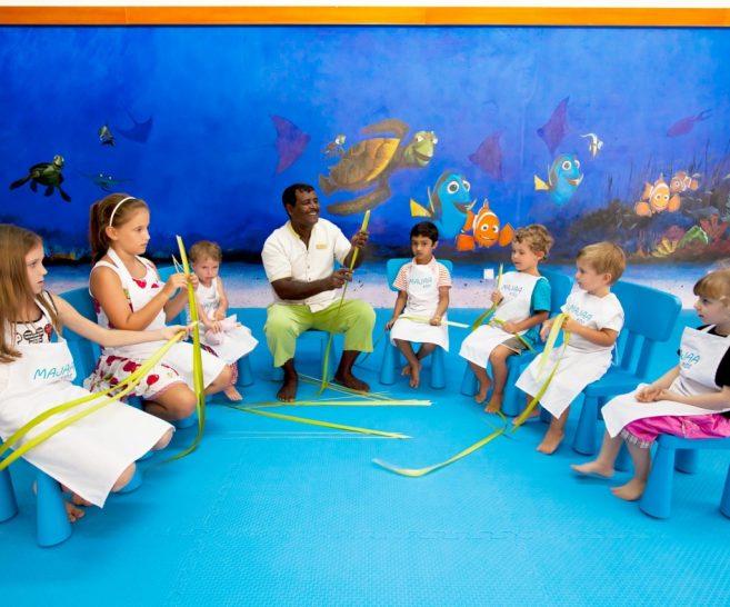 Majaa kids club Conrad Maldives