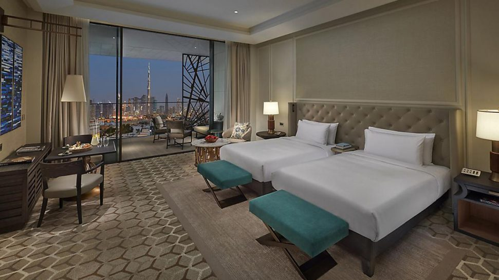 Mandarin Oriental Jumeira Deluxe Skyline View Room