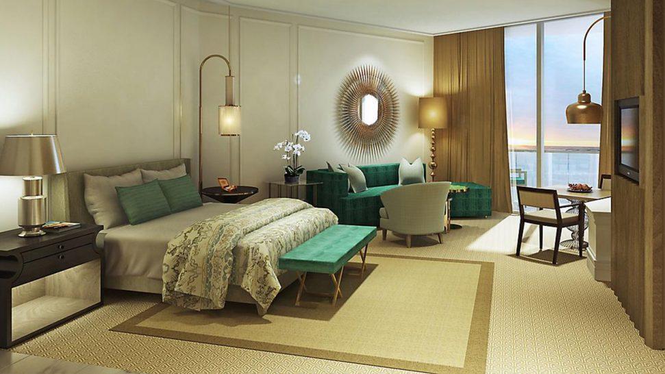 Mandarin Oriental Jumeira Dubai Club Deluxe Skyline View Room