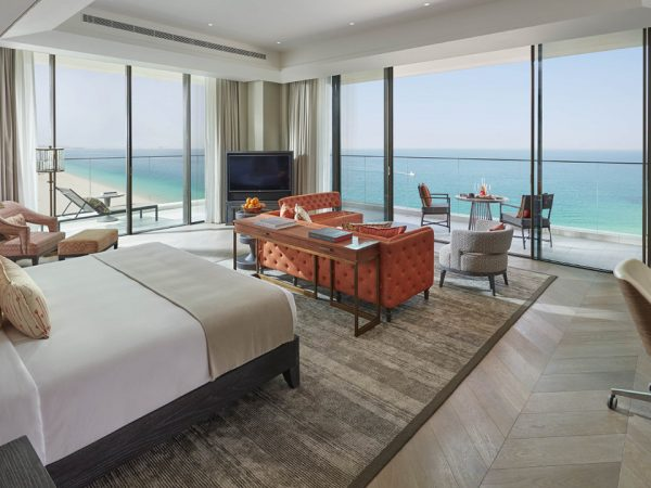 Mandarin Oriental Jumeira Dubai Deluxe Sea View Room