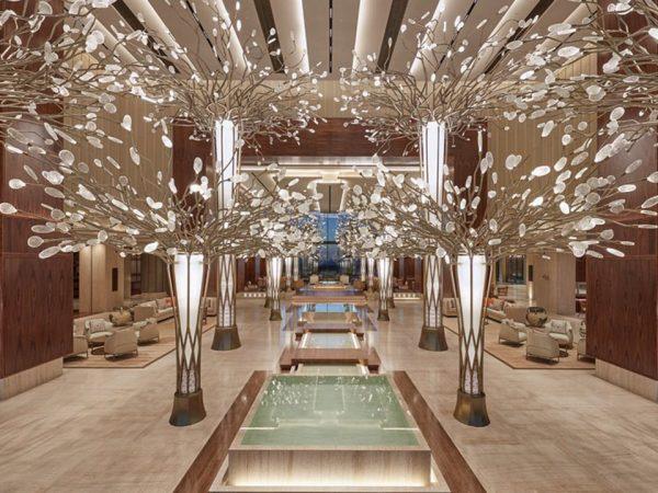 Mandarin Oriental Jumeira Dubai Lobby View