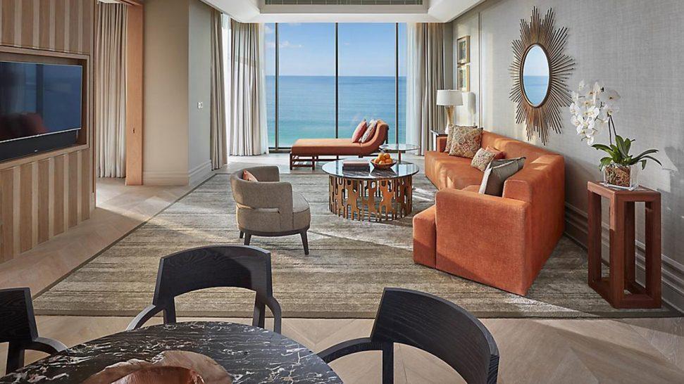 Mandarin Oriental Jumeira Dubai Mandarin Sea Front Suite