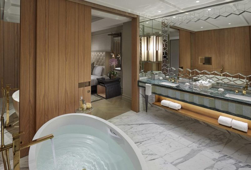 Mandarin Oriental Jumeira Dubai Premier Sea View Suite Bathroom