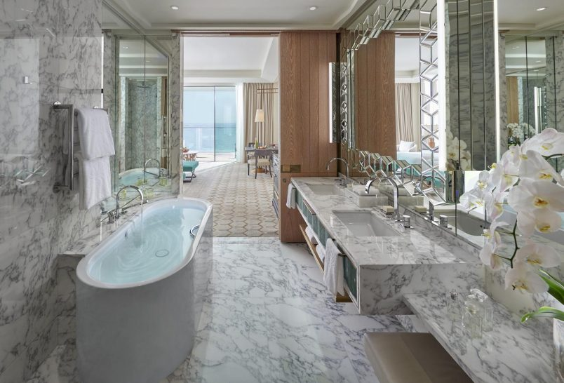 Mandarin Oriental Jumeira Dubai Premiere Sea View Room Bathroom