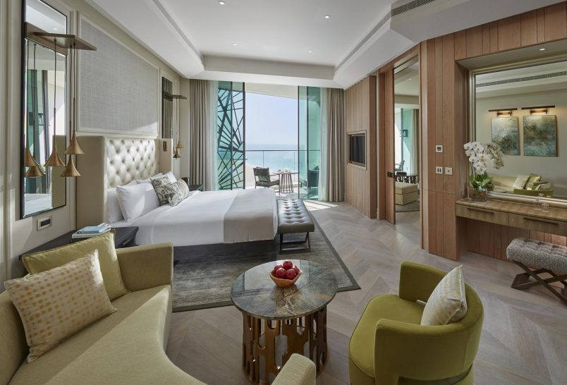 Mandarin Oriental Jumeira Dubai Sea View Suite Bedroom