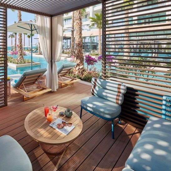 Mandarin Oriental Jumeira Dubai sun vibe cabana