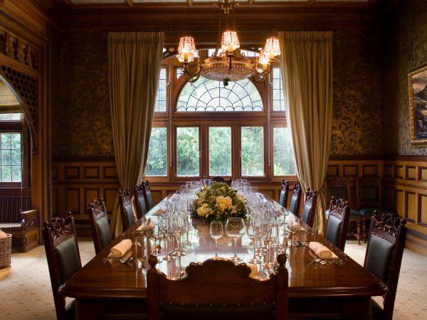 Otahuna Lodge Dining Room Header