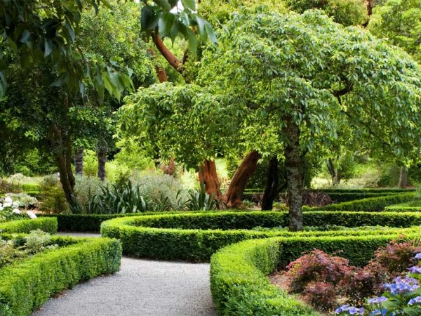 Otahuna Lodge Dutch Garden