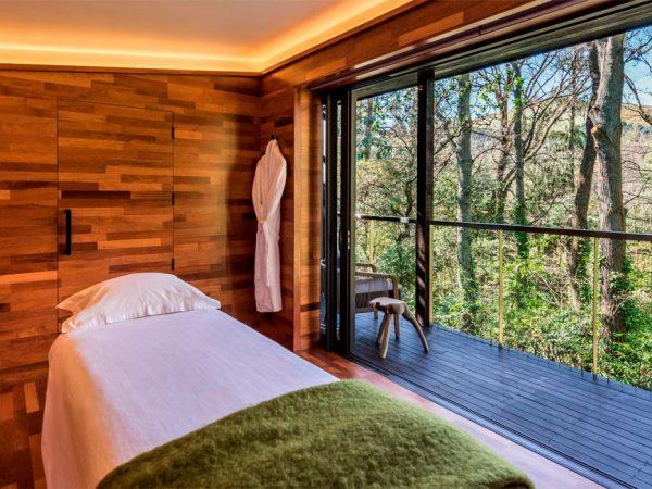 Otahuna Lodge Woodland Massage Studio Low