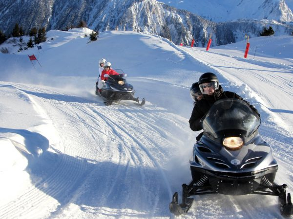 Palace Les Airelles Snow Motorcycles