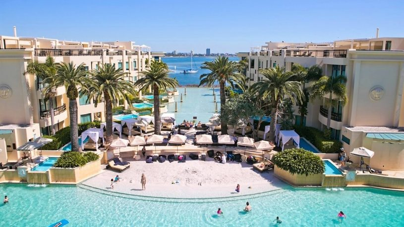 Palazzo Versace Gold Coast Hotel Pool