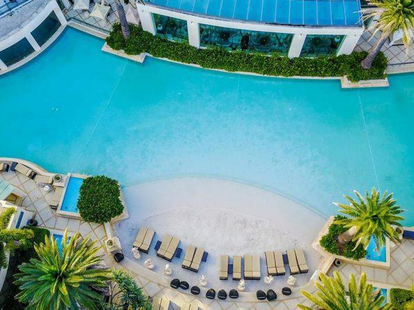 Palazzo Versace Gold Coast Pool Top View