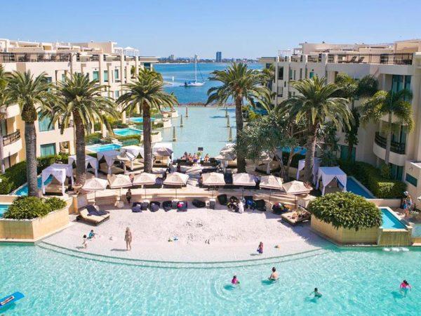 Palazzo Versace Gold Coast Top View