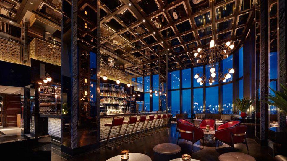 Park Hyatt Bangkok Living Room