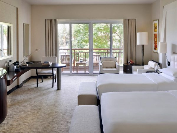 Park Hyatt Dubai 2 Twin Beds Lagoon Beach