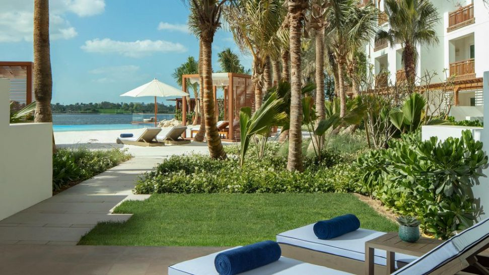 Park Hyatt Dubai Lagoon Beach Room Terrace