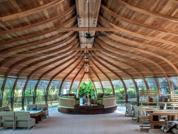 Park Hyatt Maldives Hadahaa Lobby View