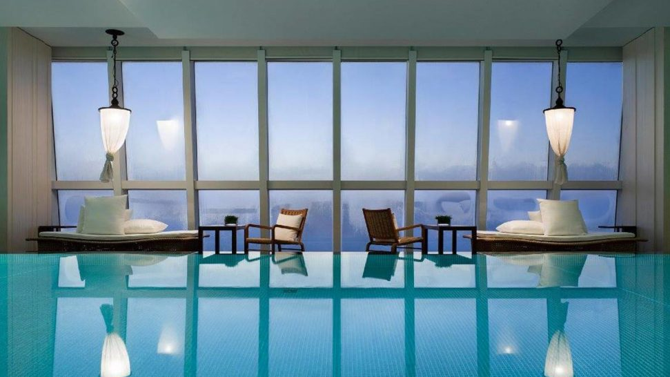 Park Hyatt Melbourne Interior Pool