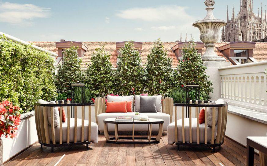 Park Hyatt Milan Dehors Lounge