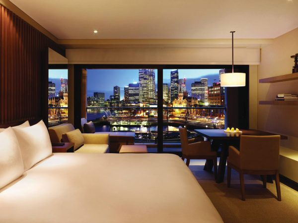 Park Hyatt Sydney 1 King Bed with Harbour View