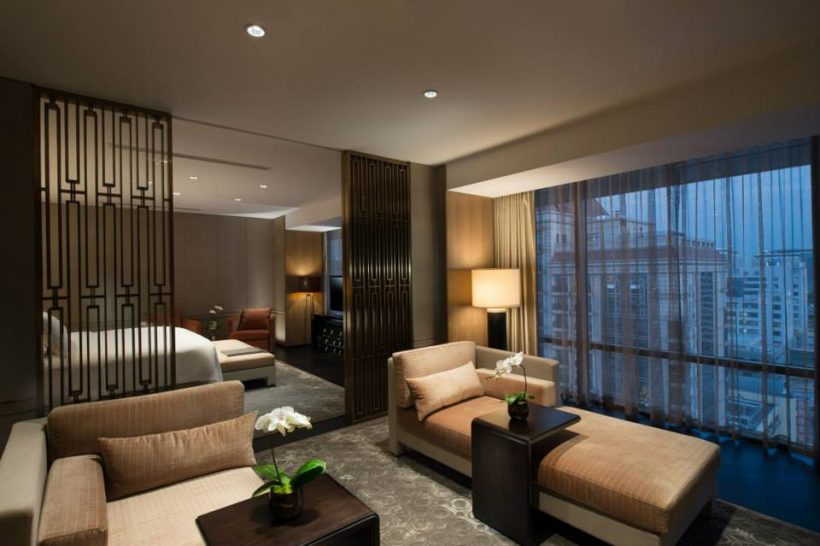 Presidential Suite Bedroom Waldorf Astoria Beijing